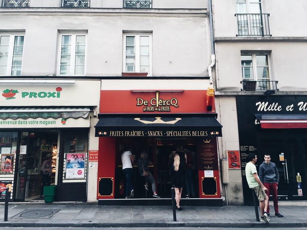 Paris 2016 french fries de clercq