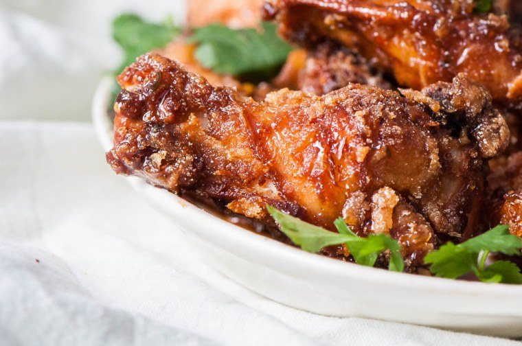 Thai Fried Chicken Wings 5