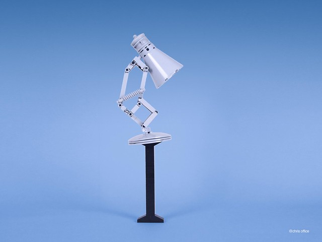This LEGO version of the famous Pixar desk lamp is utterly ...