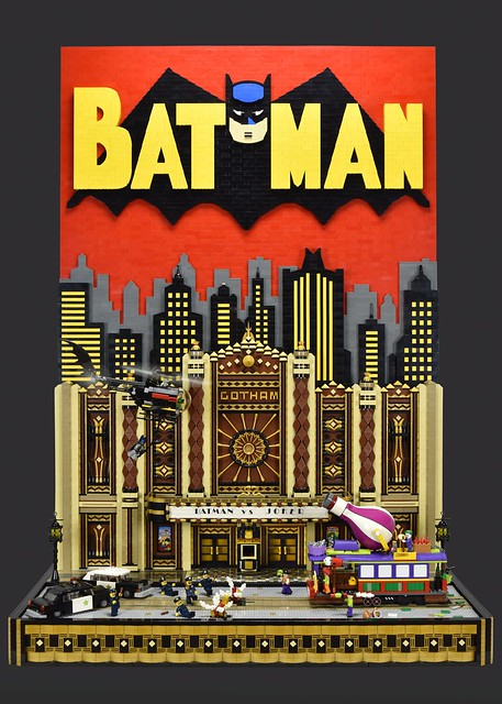 LEGO Batman vs Joker Gotham Theater Showdown