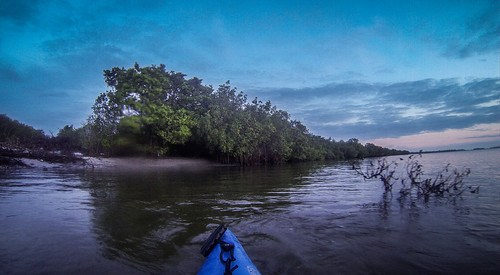 Indian River Sunrise Paddling-10