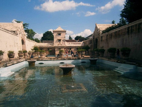 Primary Pools of Taman Sari