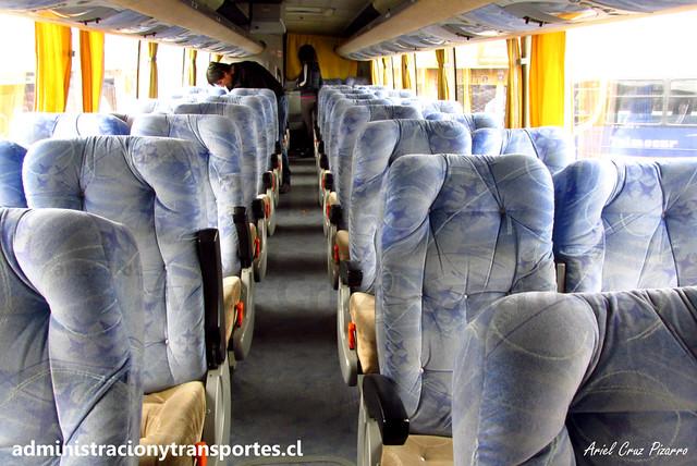 Buses Golondrina | Salón Semi Cama | Busscar Vissta Buss LO - Mercedes Benz / VJ2819