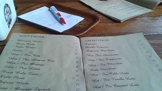 Menu and Order Pad Namamia
