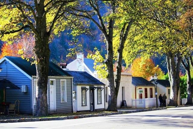 Autumn in Central Otago New Zealand