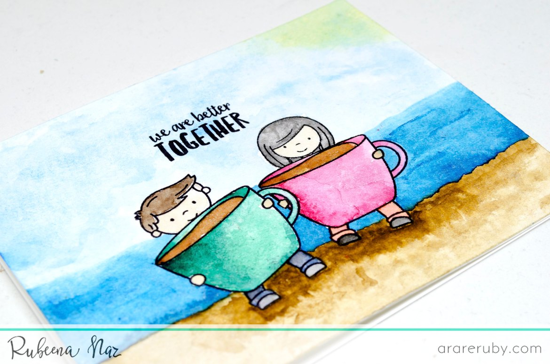 Summer Coffee Card NT 03