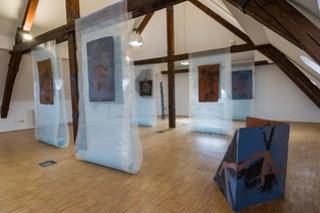 Ausstellung Beton-Blätter