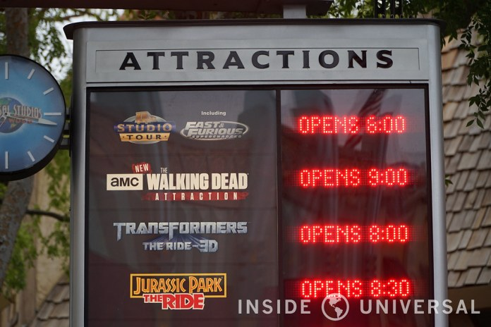 The Walking Dead Attraction officially opens to the public at Universal Studios Hollywood