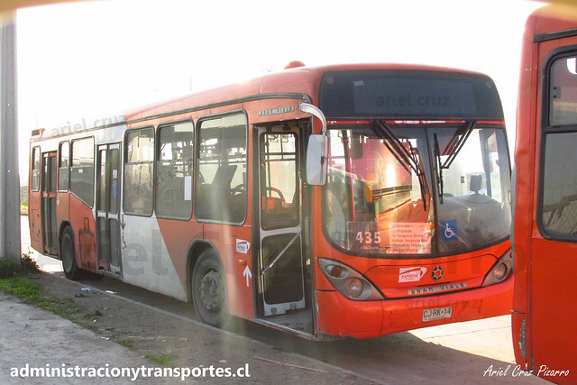 Transantiago - 435 | Express | Marcopolo Gran Viale - Volvo B7R LE / CJRK14 (Rígido)