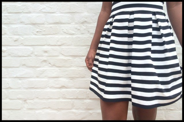striped teenage dress (skirt)