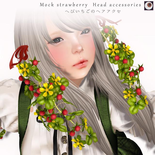 *NAMINOKE*Moc Strawberry-Head