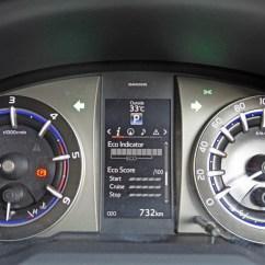 Speedometer All New Kijang Innova Top Speed Toyota Crysta Road Test Review Motorworldindiamotorworldindia Interior Instrument Cluster 2