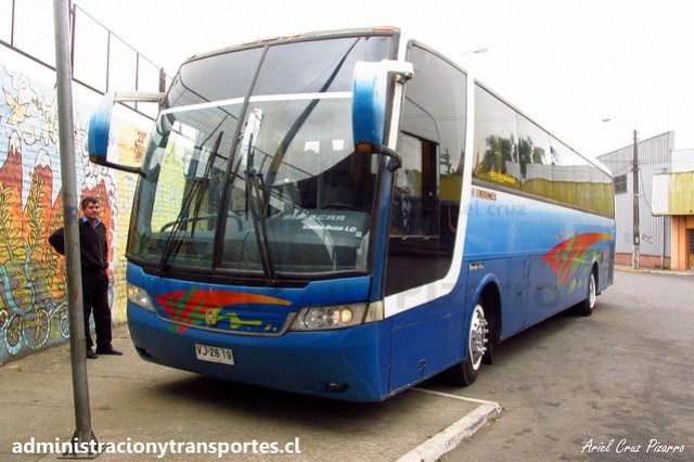 Buses Golondrina | Molina | Busscar Vissta Buss LO - Mercedes Benz / VJ2819