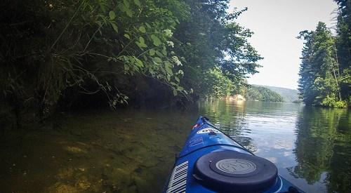 Lake Jocassee Kayaking-62