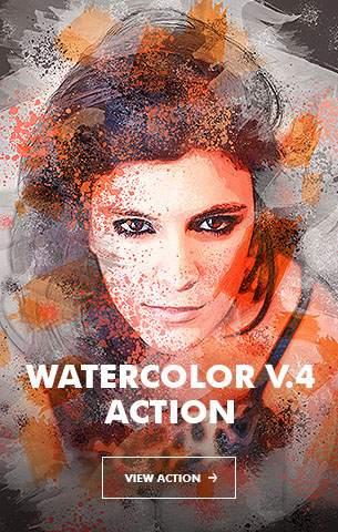 Ink Spray Photoshop Action V.1 - 87