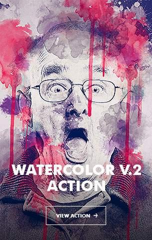 Ink Spray Photoshop Action V.1 - 85
