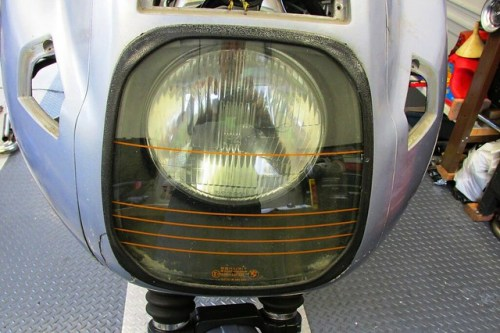 Headlight Glass Cover with Housing