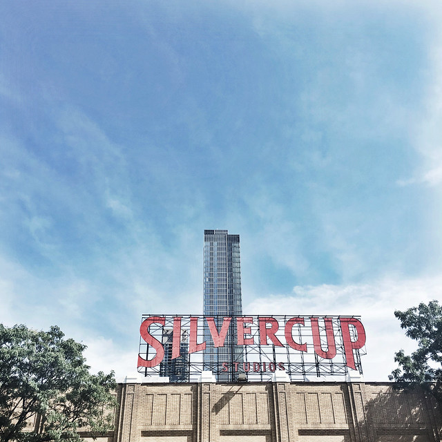 Silvercup Studios in Long Island City, NY // girlandthegood.com