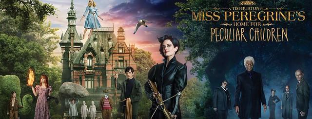 El hogar de Miss Peregrine para niños peculiares - Estreno de cine