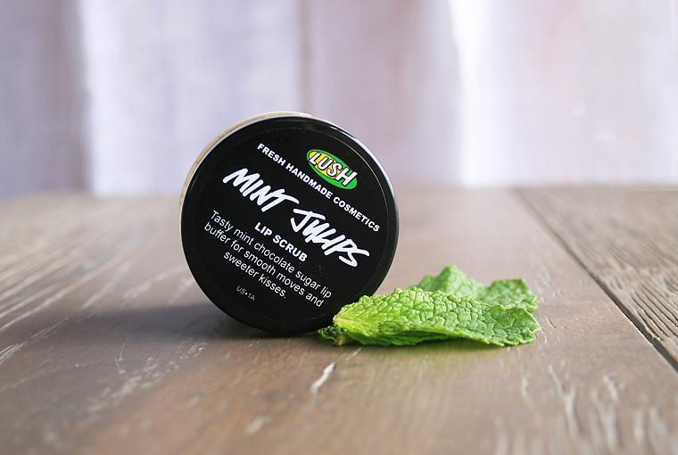 fresh philosophie: lush mint julips lip scrub