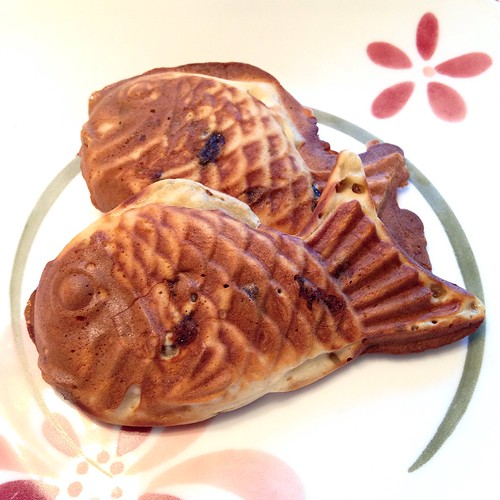 Fresh Taiyaki with red bean paste