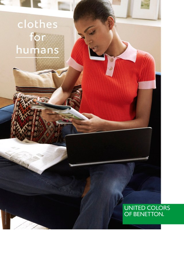 Benetton new positioning