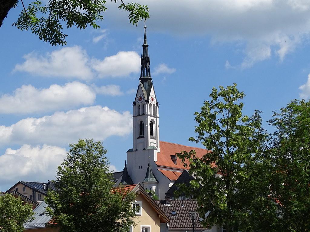 Bad Tolz Iglesia Parroquial Baviera Alemania 02