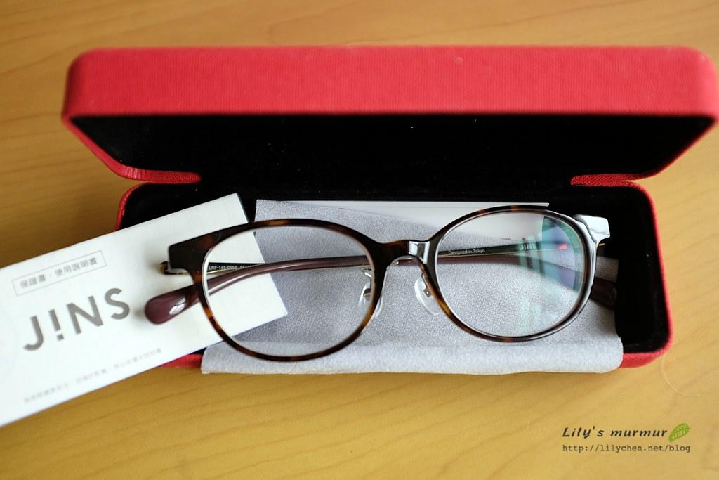 我的新JINS眼鏡,獲得很多好評呢!
