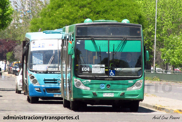 Transantiago E04 | Buses Vule | Caio Mondego H - Mercedes Benz / BJFS63