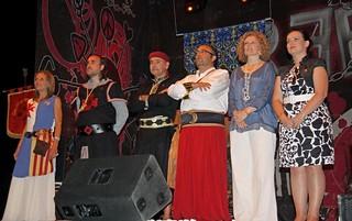 Cena de capitanía Moros y Cristianos 2012