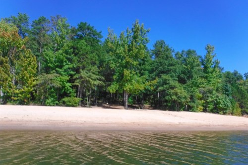 Paddling to Ghost Island in Lake Hartwell-68