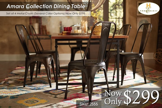 Amara Collection Dining Table -- $299