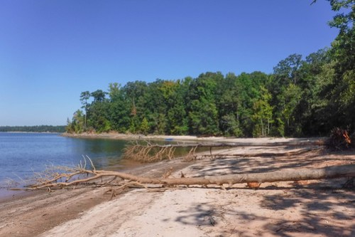 Paddling to Ghost Island in Lake Hartwell-45