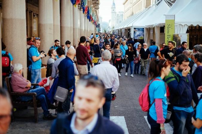 Salone del Gusto 2016: Via Roma