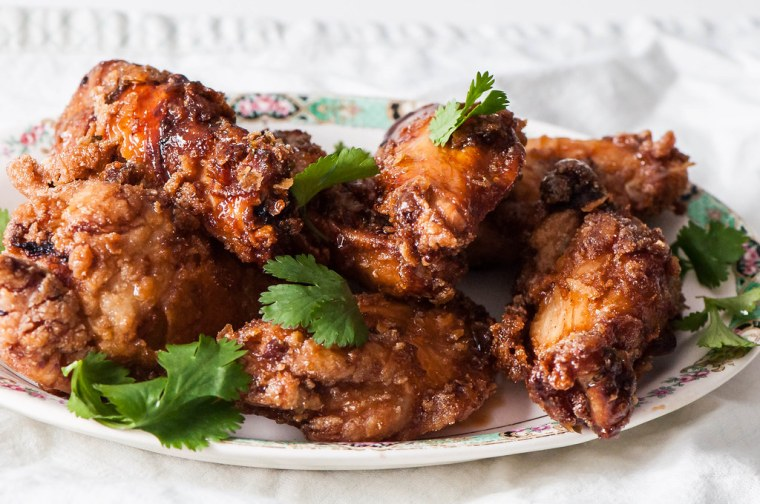 Thai Fried Chicken Wings 2
