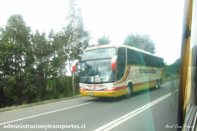 Buses Cruz del Sur | Chiloé | Marcopolo Paradiso 1200 - Volvo / ZS2105 - 232