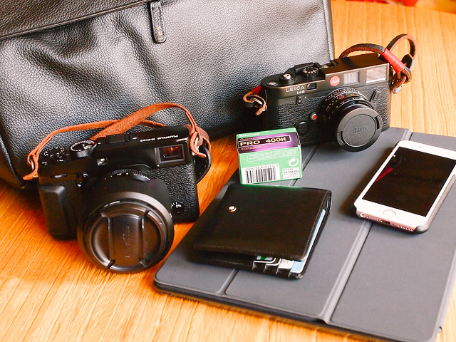 My daily cameras