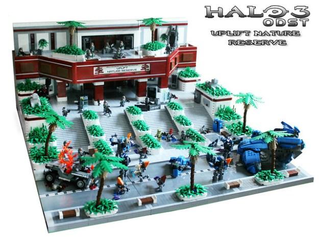 LEGO Halo 3 ODST Uplift Nature Reserve