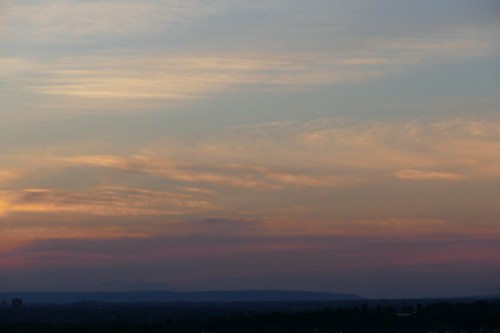Sunset 4 August 2016