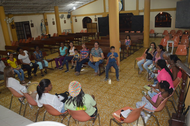 2016-09-10 Primera reunión en Potrerito, Jamundí