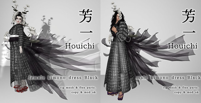 *NAMINOKE*HOUICHI Kimono Dress