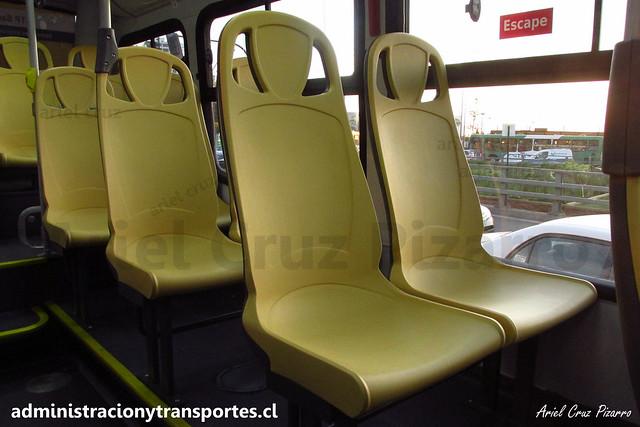 Transantiago | STP Santiago - 213e | Caio Mondego H 13.2 - Mercedes Benz / FLXP87 (Biportal - 4 Puertas)