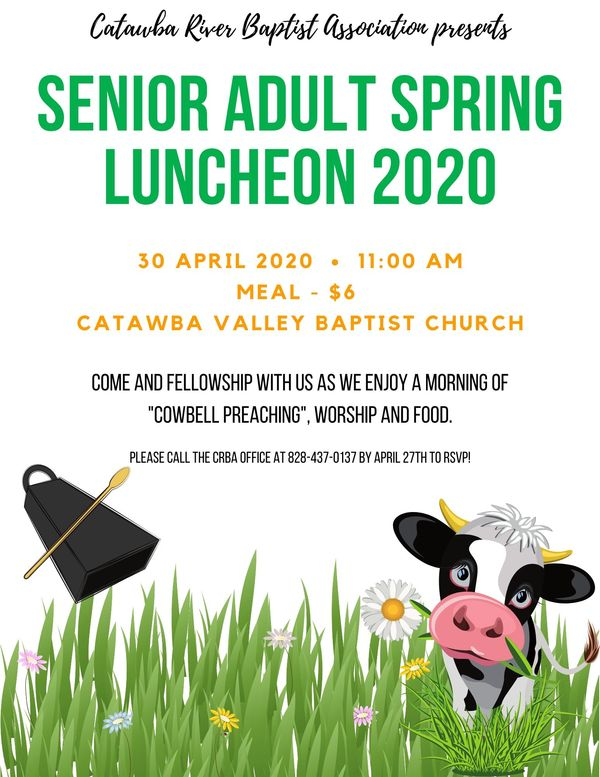 Senior Adult Spring Luncheon 2020