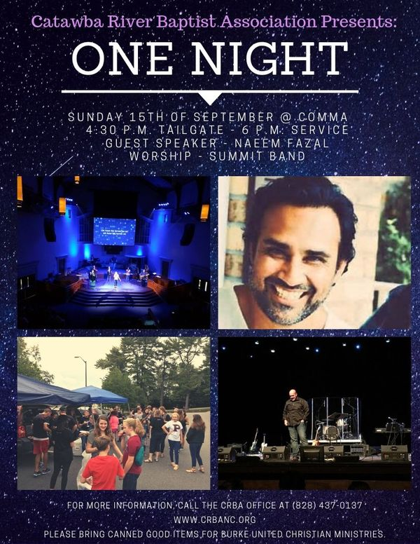 One Night Event Flyer New