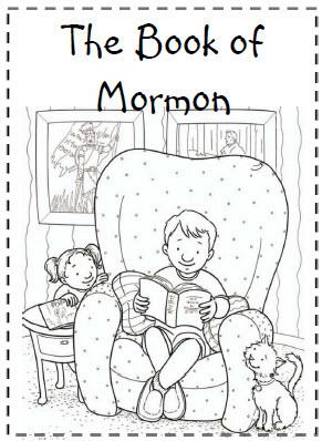 Book of Mormon Coloring Sheet