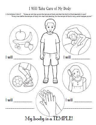All Worksheets » My Body Worksheets For Kindergarten