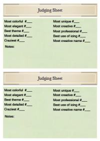 Christmas Decoration Judging Form | Ideas Christmas Decorating