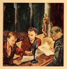 1943 Print Julian Levi Miami Biltmore Hotel Patient