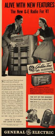 Radio Show 1940s Ads - Year of Clean Water