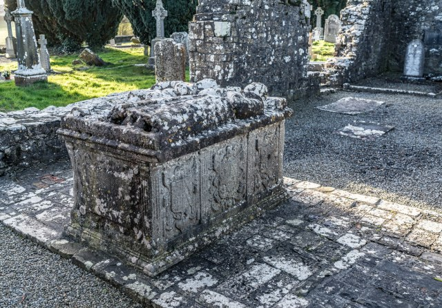The Tomb of the Jealous Man and Woman [Trim County Meath]--124298